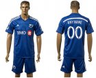 2016-17 Montreal Impact Academy Home Customized Soccer Jersey
