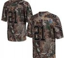 Nike 49ers #21 Frank Gore Camo With Hall of Fame 50th Patch NFL Elite Jersey