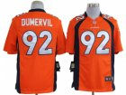 Nike nfl denver broncos #92 dumervil orange Game Jerseys