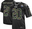 Nike Raiders #20 Darren McFadden Camo With Hall of Fame 50th Patch NFL Elite Jersey