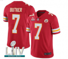 Nike Chiefs #7 BUTKER Red 2020 Super Bowl LIV Vapor Untouchable Limited Jersey