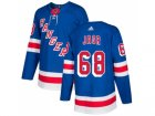 Men Adidas New York Rangers #68 Jaromir Jagr Royal Blue Home Authentic Stitched NHL Jersey