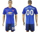 2016-17 Manchester United Away Customized Soccer Jersey