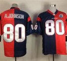 Nike Texans #80 Andre Johnson With Hall of Fame 50th Patch NFL Elite Jersey
