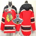 nhl jerseys chicago blackhawks red[pullover hooded sweatshirt][2013 Stanley cup champions]