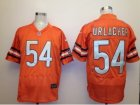 Nike nfl Chicago Bears #54 Brian Urlacher Orange Elite jerseys