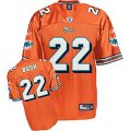 nfl Miami Dolphins #22 Reggie Bush orange