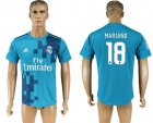 2017-18 Real Madrid 18 MARIANO Third Away Thailand Soccer Jersey