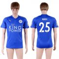 2017-18 Leicester City 25 NDIDI Home Thailand Soccer Jersey