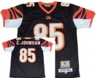 nfl Cincinnati Bengals #85 C.Johnson Throwback black