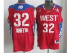 2013 All-Star Western Conference Los Angeles Clippers #32 Blake Griffin Red[Revolution 30 Swingman]