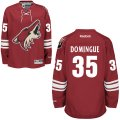 Men Arizona Coyotes #35 Louis Domingue Burgundy Red Home NHL Jersey