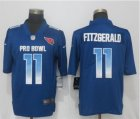 Nike NFC Cardinals #11 Larry Fitzgerald Royal 2019 Pro Bowl Limited Jersey