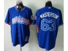 mlb 2013 all star jerseys cleveland indians #63 masterson blue