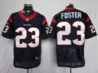 Nike houston texans #23 foster blue Elite jerseys