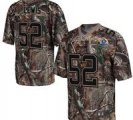 Nike Ravens #52 Ray Lewis Camo With Hall of Fame 50th Patch NFL Elite Jersey