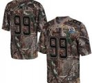 Nike 49ers #99 Aldon Smith Camo With Hall of Fame 50th Patch NFL Elite Jersey