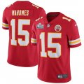 Nike Chiefs #15 Patrick Mahomes Red 2020 Super Bowl LIV Vapor Untouchable Limited