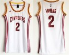 Cavaliers #2 Kyrie Irving White Women Swingman Jersey