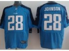 Nike NFL Tennessee Titans #18 Chris Johnson Light Blue Elite Jerseys