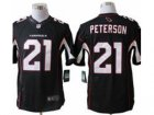 Nike NFL Arizona Cardinals #21 Patrick Peterson Black Jerseys(Limited)