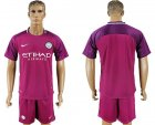 2017-18 Manchester City Away Soccer Jersey