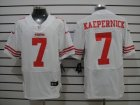 Nike NFL San Francisco 49ers #7 Colin Kaepernick white Jerseys[Elite]