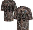 Nike Falcons #84 Roddy White Camo With Hall of Fame 50th Patch NFL Elite Jersey