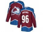 Adidas Colorado Avalanche #96 Mikko Rantanen Burgundy Home Authentic Stitched NHL Jersey