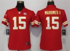 Nike Chiefs #15 Patrick Mahomes II Red Women Vapor Untouchable Limited Jersey