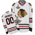 nhl jerseys chicago blackhawks #00 griswold white[2013 stanley cup champions]