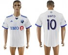 2017-18 Montreal Impact 10 PIATTI Away Thailand Soccer Jersey