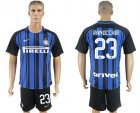 2017-18 Inter Milan 23 RANOCCHIA Home Soccer Jersey