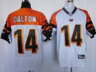 nfl cincinnati bengals #14 dalton white 2011 new player