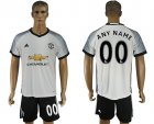 2016-17 Manchester United Third Away Customized Soccer Jersey
