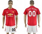 2016-17 Manchester United Home Customized Soccer Jersey