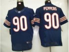 Nike nfl Chicago Bears #90 Peppers Authentic blue Elite jerseys