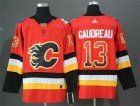 Flames #13 Johnny Gaudreau Red Drift Fashion Adidas Jersey