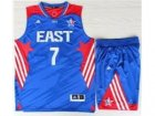 2013 All-Star Eastern Conference New York Knicks #7 Carmelo Anthony Blue(Revolution 30 Swingman)Suits