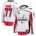 Capitals #77 T.J. Oshie White 2018 Stanley Cup Champions Adidas Jers
