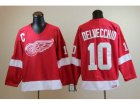 nhl jerseys deroit red wings #10 Delvecchid CCM Throwback red