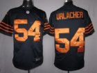 Nike Chicago Bears #54 Urlacher Dark Blue-Yellow[LIMITED]Jerseys