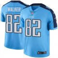 Youth Nike Tennessee Titans #82 Delanie Walker Light Blue Stitched NFL Limited Rush Jersey