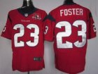 Nike NFL Houston Texans #23 Arian Foster red[10th Patch]Elite Jerseys
