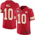 Nike Chiefs #10 Tyreek Hill Red 2020 Super Bowl LIV Vapor Untouchable Limited Jersey