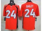 Nike Denver Broncos #24 Bailey Orange[Limited]Jerseys