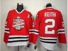 NHL chicago blackhawks #2 keith red[new 2013 Stanley cup champions][patch A]