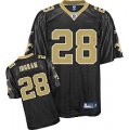 nfl New Orleans Saints #28 Mark Ingram black[kids]