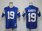 NFL Jerseys San Diego Chargers19 Alworth Blue M&N 1984