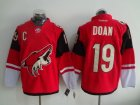 Phoenix Coyotes #19 Shane Doan Red Home Stitched NHL Jersey
